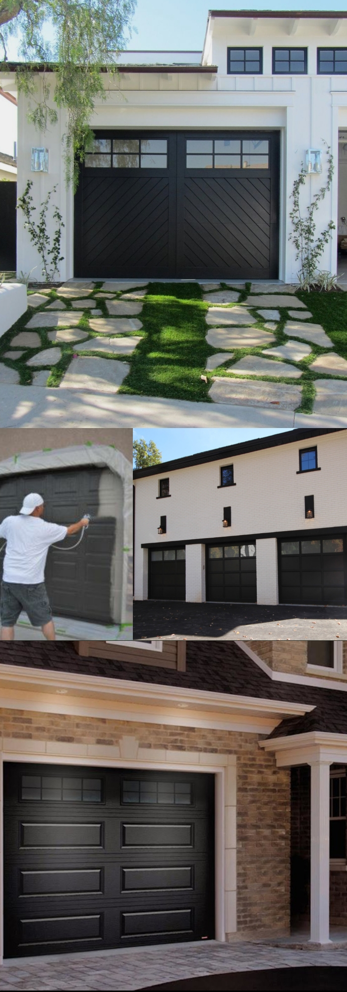 30 Decorative Garage Door Ideas Barn Style Wood Metal Mid Century